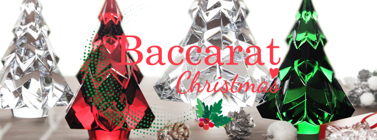 バカラのクリスマス デコレーション