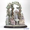 Lladro 'Tea in the Garden (Lady & Flower)' 01759 [LE2000] Woman Sculpture Figurine H60cm