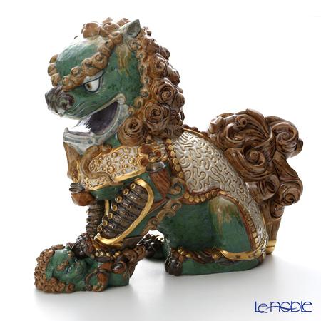 リヤドロ 東洋の獅子 雌-Green- 01986 LE1500