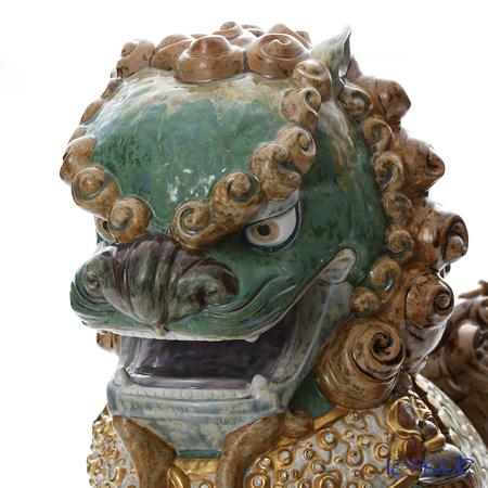 リヤドロ 東洋の獅子 雌-Green-01986 LE1500