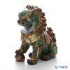 Lladro Oriental Lion (Green) 01987 [Limited Edition of 1,500 pieces]