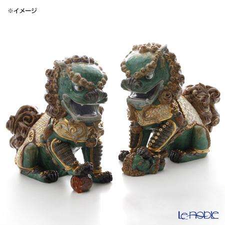リヤドロ 東洋の獅子 雄-Green-01987 LE1500