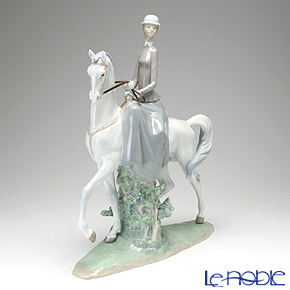リヤドロ 白い馬の少女 04516