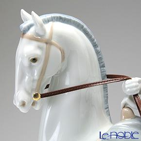 リヤドロ 白い馬の少女04516