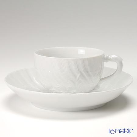 000000 / 05584 White Swan service Meissen Tea Cup & Saucer 150 cc