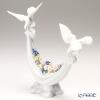 リヤドロ 平和の花かご06579