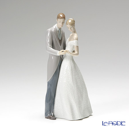 Lladro 'Together Forever (Wedding)' 08107 Couple Figurine H22cm