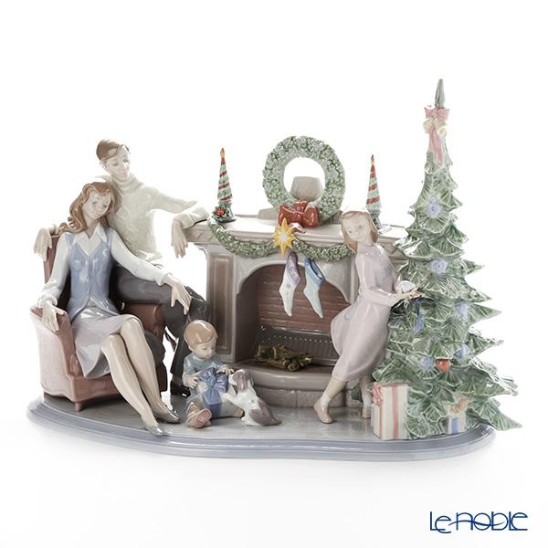 リヤドロ 家族のクリスマス LE750 08260(37x51cm) 世界限定生産750点