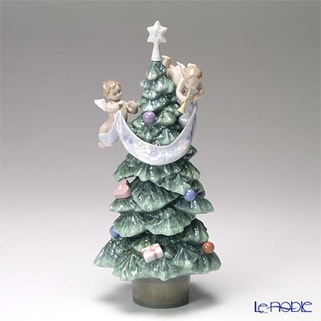リヤドロ 天使からのプレゼント (クリスマスツリー) 08403