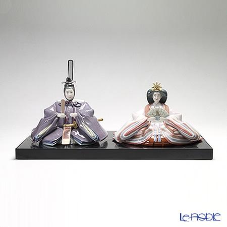 リヤドロ 雛人形 親王飾り 08505