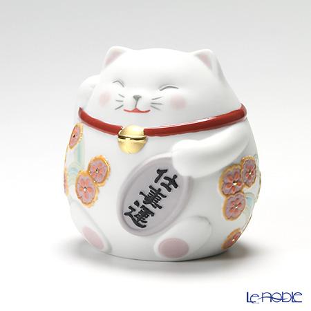 リヤドロ 招き猫 White08528