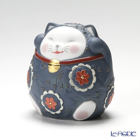 リヤドロ 招き猫 Blue 08529