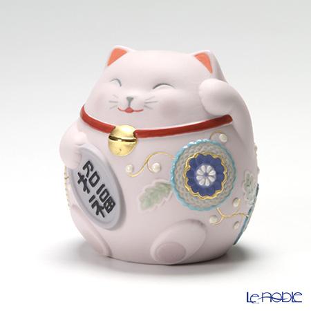 リヤドロ 招き猫 Pink08530