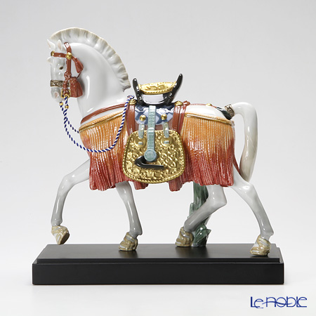 Lladro 'The White Horse of Hope' 08577 [LE3500] Animal Figurine / Sculpture H31cm
