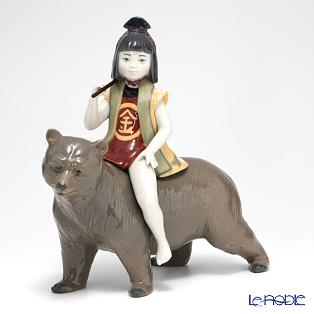 Lladro Kintaro and the Bear 08687 [Limited Edition of 3,500 pieces]
