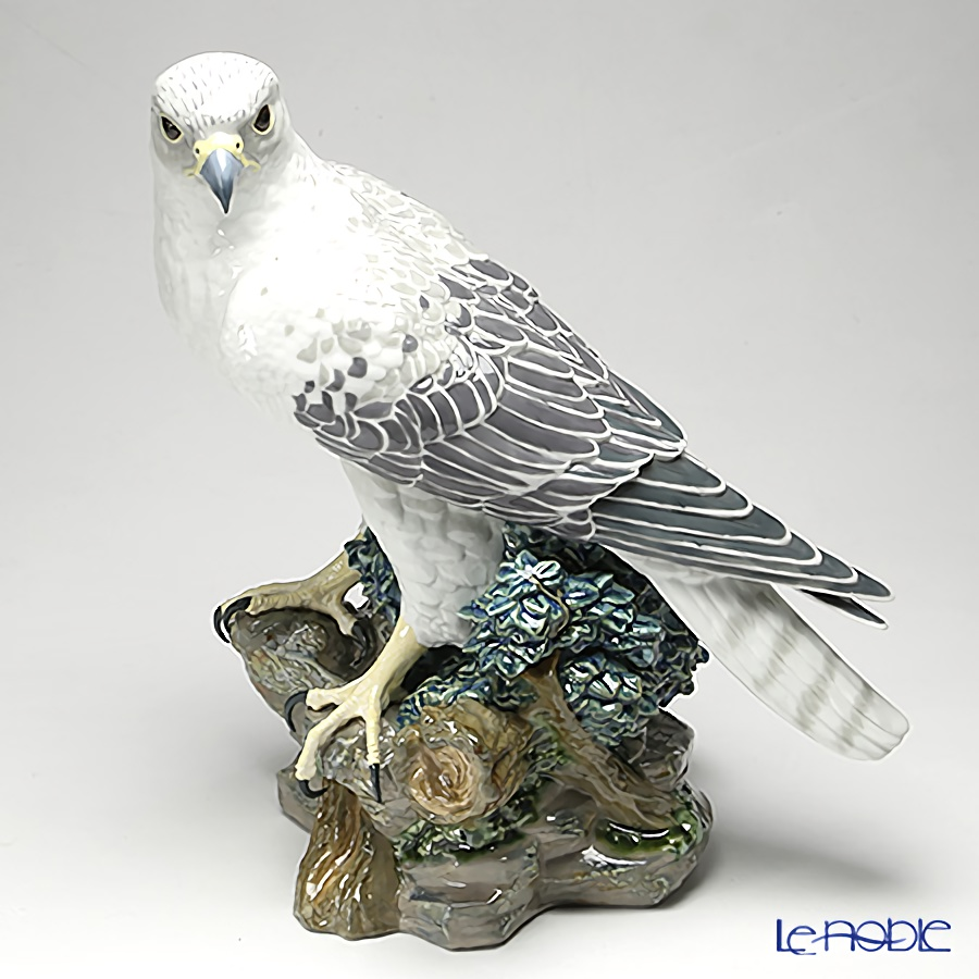 Le Noble Lladro Gyrfalcon Bird 08722 Le3000 Animal Sculpture Figurine H41cm