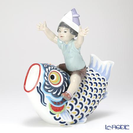 リヤドロ 鯉のぼり 08775
