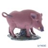 Lladro 'Chinese Zodiac - The Boar (Pig)' Purple 09120 [LE1888] Animal Figurine H15cm