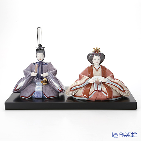 Lladro 'Hina Dolls Special Version / Girls' Day Japan' 9149 [LE500] Emperor & Empress Figurine (set of 2)