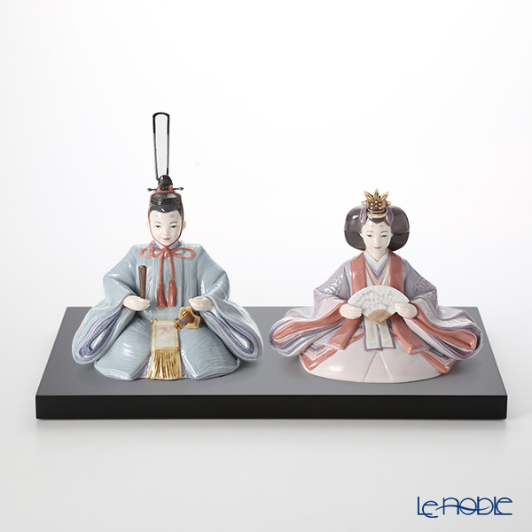 Lladro'Hinamatsuri Dolls / Girls' Day Japan' 09246 Emperor & Empress Figurine (set of 2)