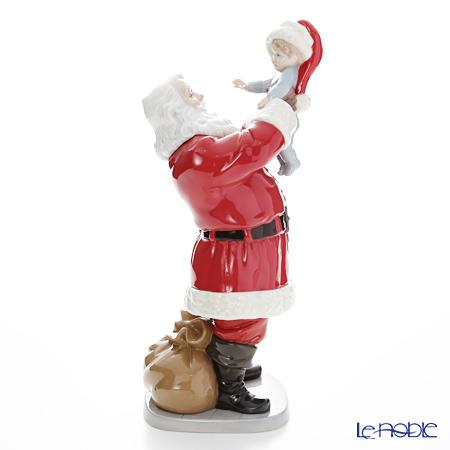 リヤドロ メリークリスマス サンタさん! 9254(8×13×16cm)