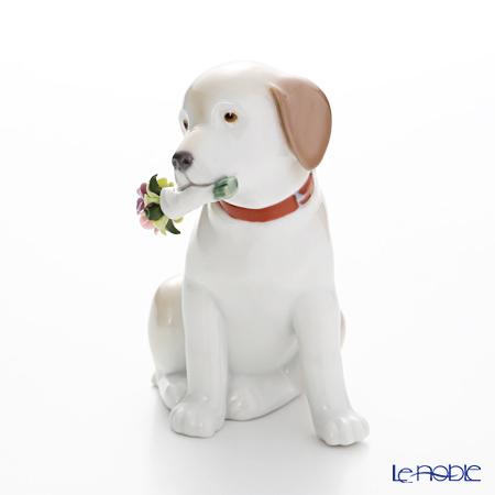 リヤドロ 花束をあなたに09256(12×7×8cm)