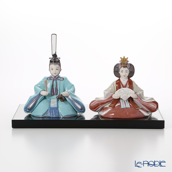 Lladro 'Hinamatsuri Dolls Special Version / Girls' Day Japan' 09292 Emperor & Empress Figurine (set of 2)