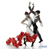 Lladro 'Flamenco Dancers (Red Rose Flower)' 0933 Couple Figurine H33.5cm