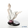Lladro 'The Essay Begins (Sitting Ballet Dancer in Tutu)' 09335 Girl Figurine H13.5cm