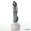 Lladro 'Haute Allure - Sophisticated Elegance (Rose Flower)' Dark Blue 09357 [LE300] Woman Figurine H37.5cm