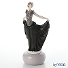 Lladro 'Haute Allure - Exquisite Creation' Black 09360 [LE300] Woman Figurine H38cm