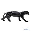 Lladro 'Origami - Panther' Glassed Black 09496 Animal Figurine W45xH18.5cm