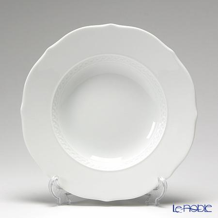 リチャードジノリ(Richard Ginori) ミュージオホワイト スーププレート 24cm