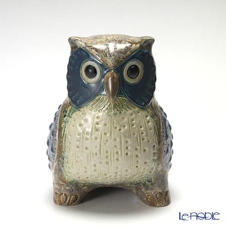 リヤドロ 福を呼ぶ鳥(大・Gray)12532