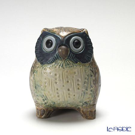 リヤドロ 福を呼ぶ鳥(小・Gray) 12534