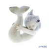Lladro 'Playing at Sea (Blue Hair with Flower)' 18111 Mermaid Figurine H10cm