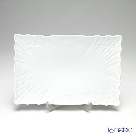 リチャードジノリ(Richard Ginori) ベッキオホワイト フラット長方形プレート 23×15cm