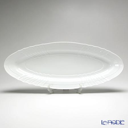 リチャードジノリ(Richard Ginori) ベッキオホワイトフィッシュプラター 65cm