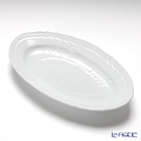 Richard Ginori 'Vecchio Ginori' White Oval Pickle Dish 23cm