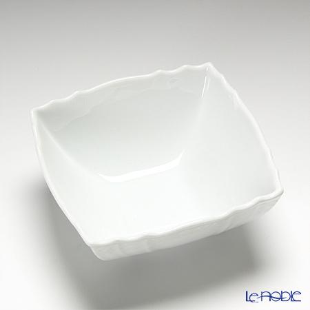 Richard Ginori 'Vecchio Ginori' White Square Bowl 13.5cm (S)