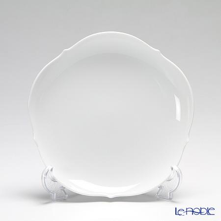 マイセン(Meissen) マイセンホワイト 000001/23501 プレート 18cm(グローサー・アウスシュニット)