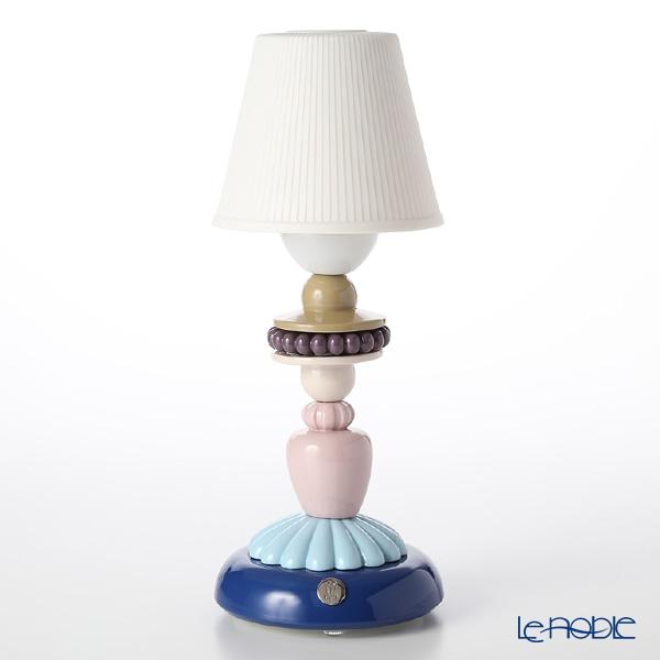 リヤドロ SUNFLOWER FIREFLY LAMP (BLUE) 23920(30×12cm)