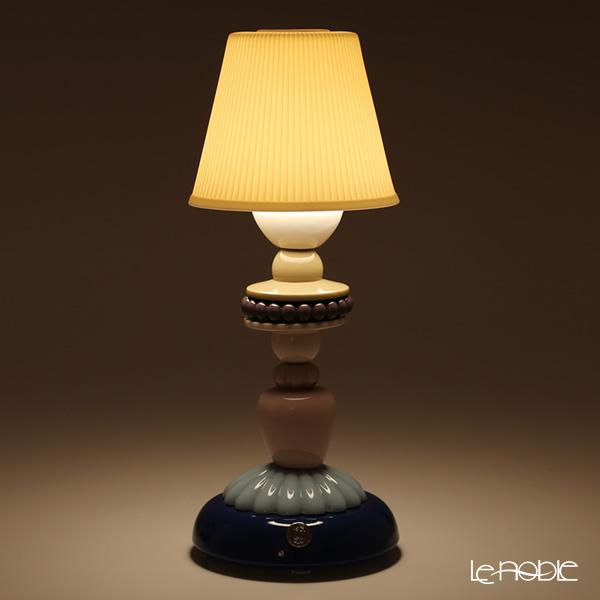 リヤドロ SUNFLOWER FIREFLY LAMP (BLUE)23920(30×12cm)