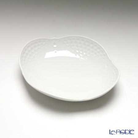 マイセン(Meissen) ホワイトレリーフ 000001/26284 オードブルディッシュ 16cm