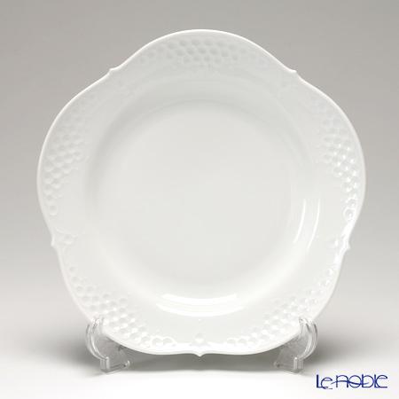 マイセン(Meissen) ホワイトレリーフ 000001/26475 プレート 26cm