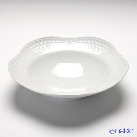 マイセン(Meissen) ホワイトレリーフ 000001/26488 スーププレート 23cm