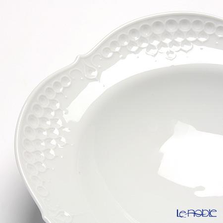 マイセン(Meissen) ホワイトレリーフ 000001/26488スーププレート 23cm
