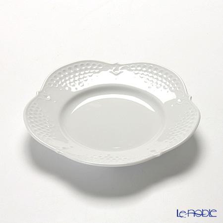 マイセン(Meissen) ホワイトレリーフ 000001/26501プレート 19cm
