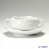 Meissen white reliefs 000000 / 26655 Soup Cup & saucer