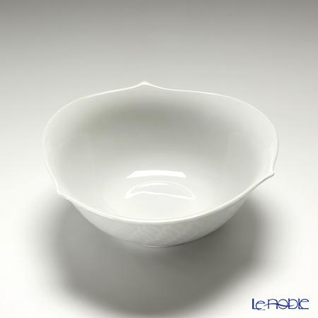 マイセン(Meissen) 波の戯れホワイト 000001/29411サラダボウル 14.5cm